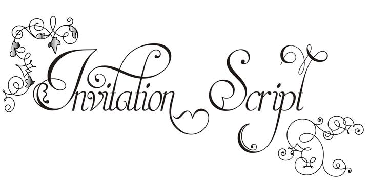 Invitation Script | Webfont & Desktop font | MyFonts