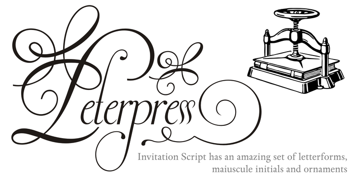 Invitation script webfont desktop font myfonts stopboris Gallery