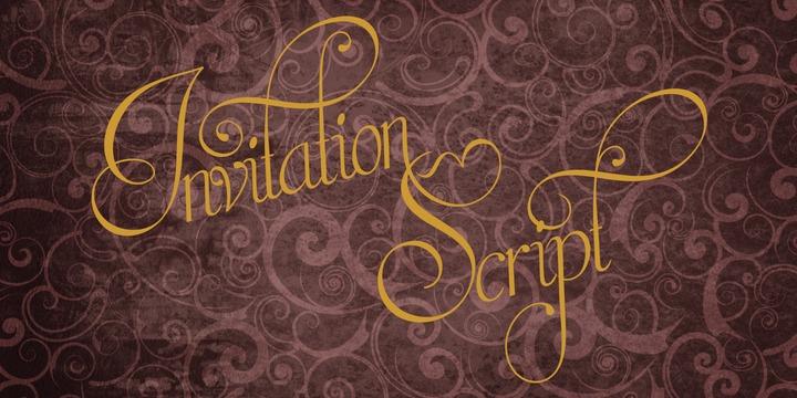 Invitation script webfont desktop font myfonts stopboris Choice Image