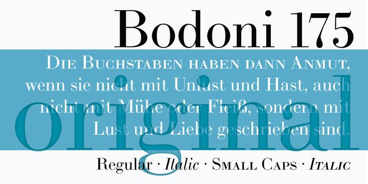LTC Bodoni 175 | Webfont & Desktop font | MyFonts