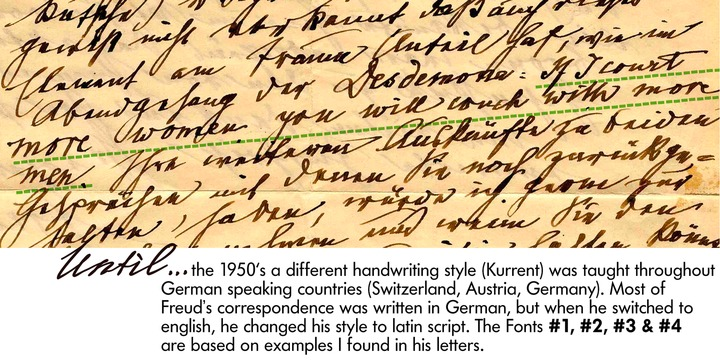 Sigmund Freud Typeface