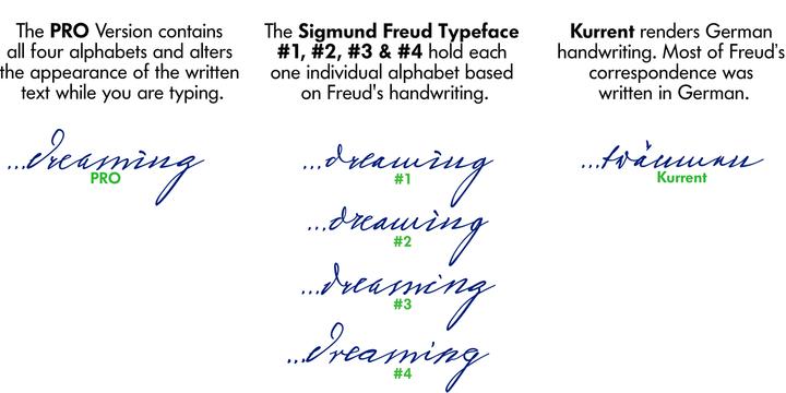 Sigmund freud typeface webfont desktop font myfonts sigmund freud typeface altavistaventures Choice Image