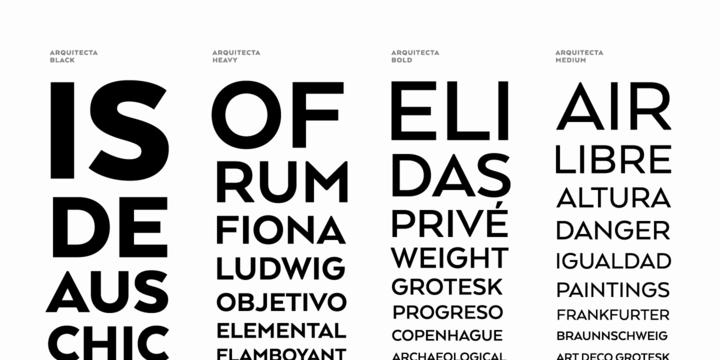 Arquitecta | Webfont & Desktop font | MyFonts