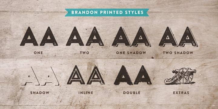 Brandon Printed | Webfont & Desktop font | MyFonts