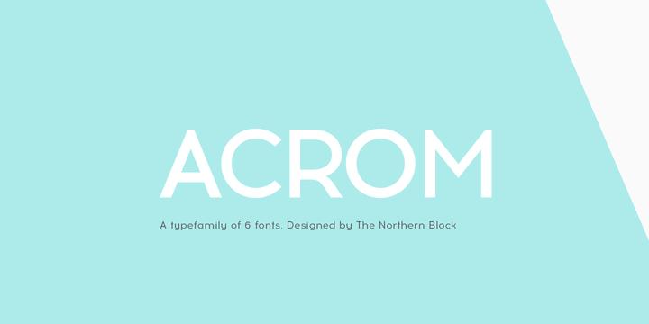 132749 - Font dňa – Acrom (zľava 90%, od 3.20$, rodina 16$