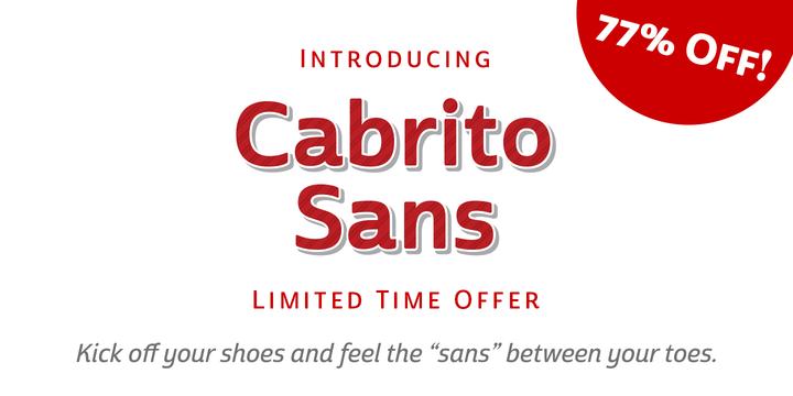 Cabrito Sans™