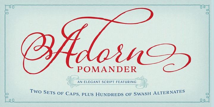 Adorn | Webfont & Desktop font | MyFonts
