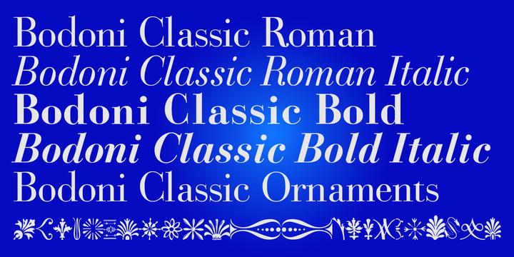 Bodoni Classic   Webfont & Desktop font   MyFonts