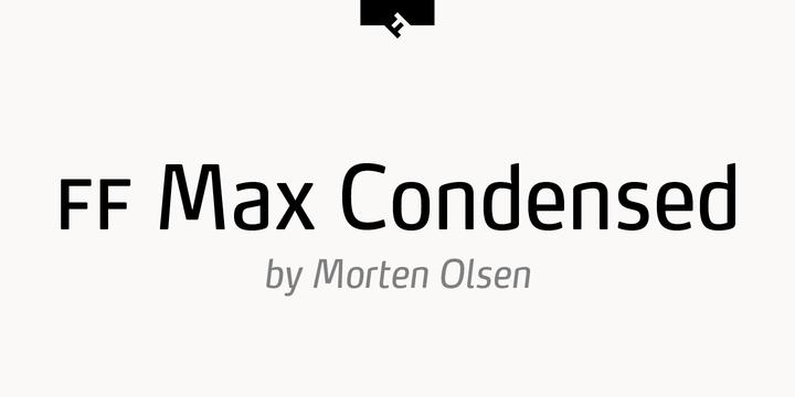 Ff Max Font