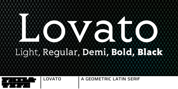 Lovato Font Download