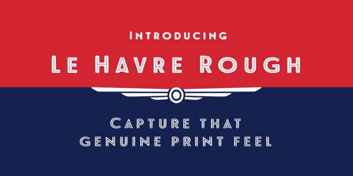 Le Havre Rough   Webfont & Desktop font   MyFonts