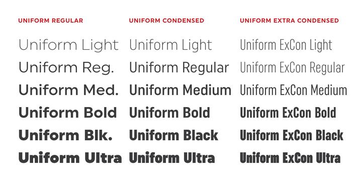 Uniform | Webfont & Desktop font | MyFonts