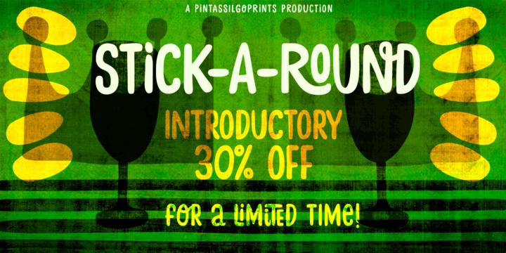 Stick-A-Round