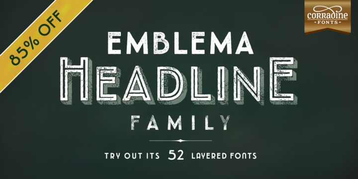 Emblema Headline™
