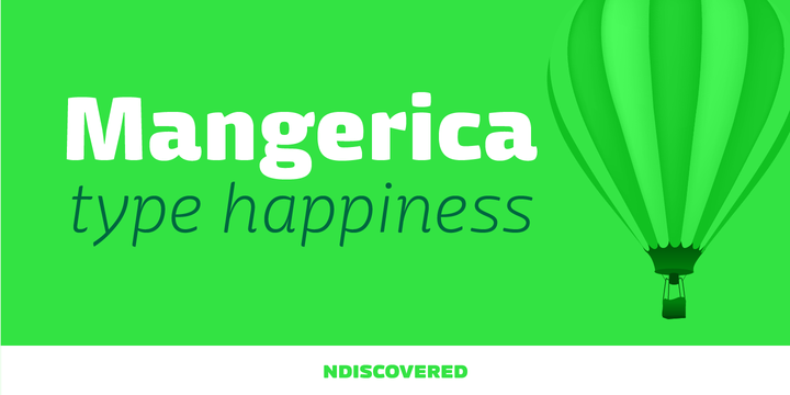 Mangerica Typeface Free Font Download