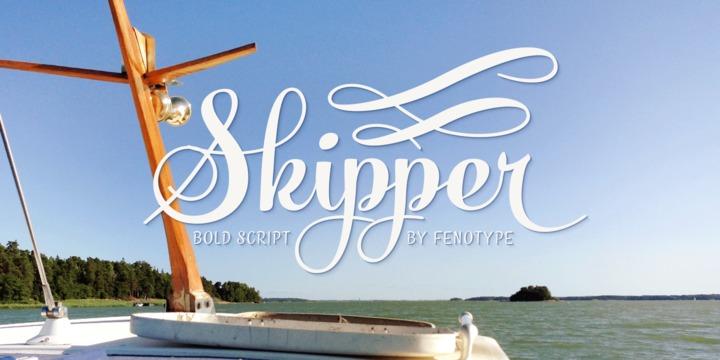 Skipper Font Download