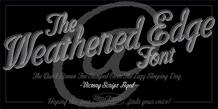 Victory Script | Webfont & Desktop font | MyFonts