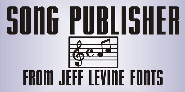 Song Publisher JNL | Webfont & Desktop font | MyFonts