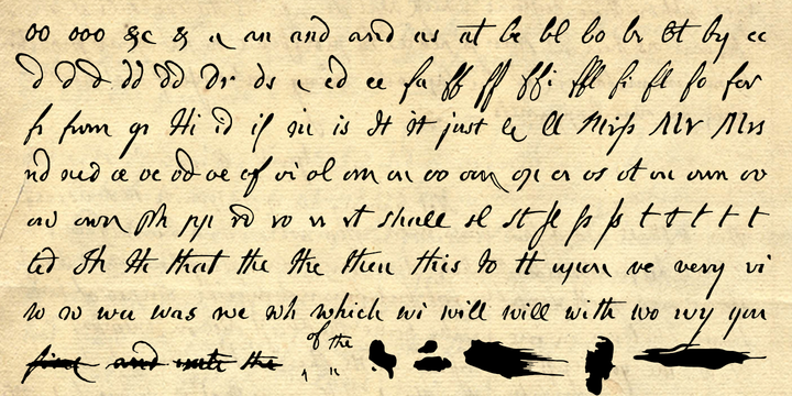 Tag1700s Handwriting MyFonts