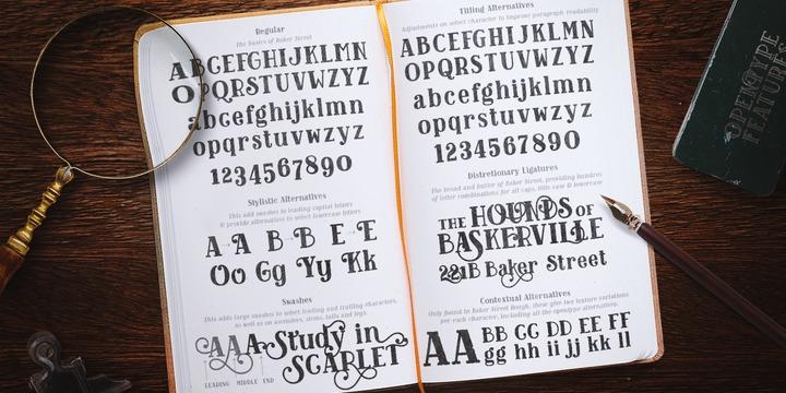 Baker Street | Webfont & Desktop font | MyFonts