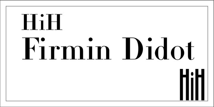 Firmin Didot « MyFonts
