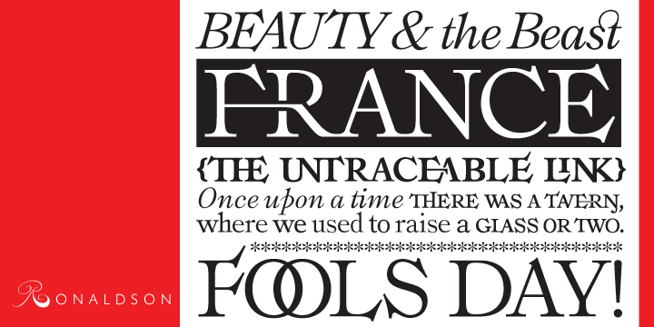 About This Font Family