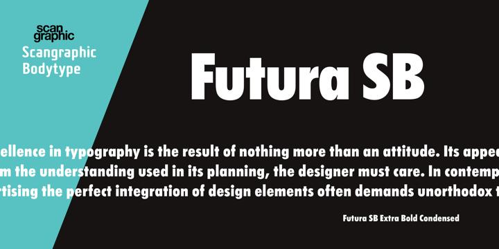 Futura SB   Webfont & Desktop font   MyFonts