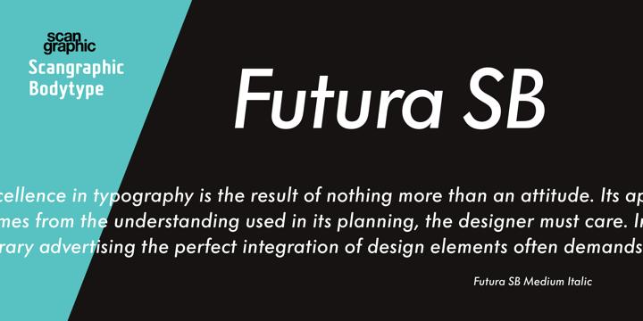 Futura SB | Webfont & Desktop font | MyFonts