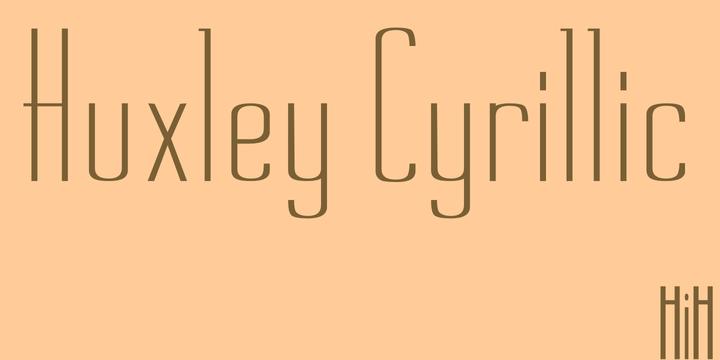 Huxley Cyrillic | Webfont & Desktop font | MyFonts