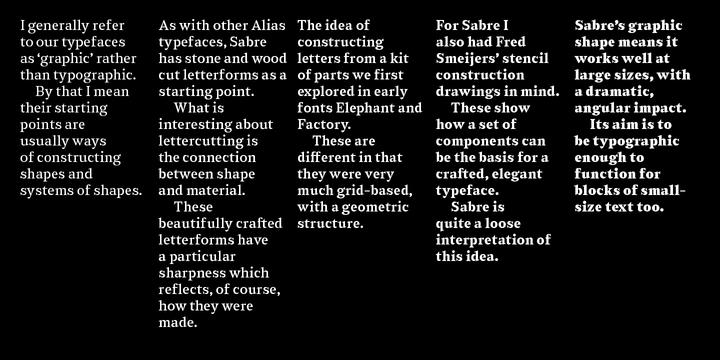 Sabre | Webfont & Desktop font | MyFonts
