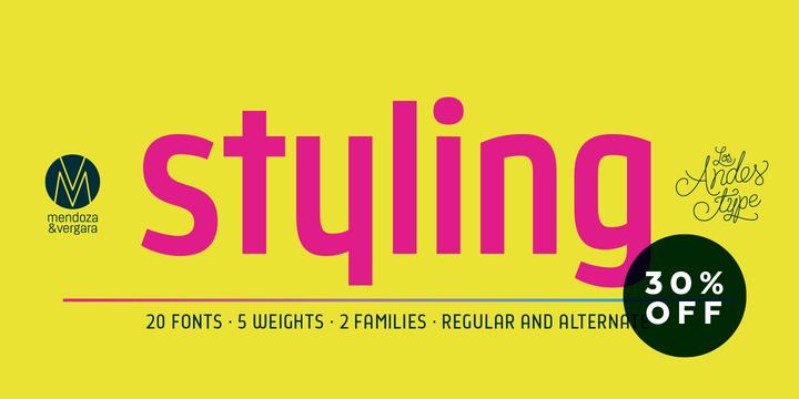 Styling Font Family - 20 Font $500 | [Infoclub.PRO]