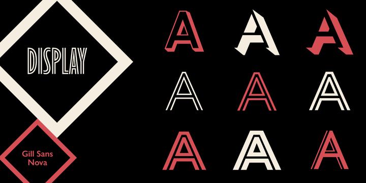 Gill Sans Nova | Webfont & Desktop font | MyFonts