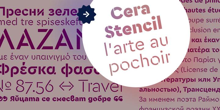 Download Cera Pro™ Font by TypeMates – FintFont