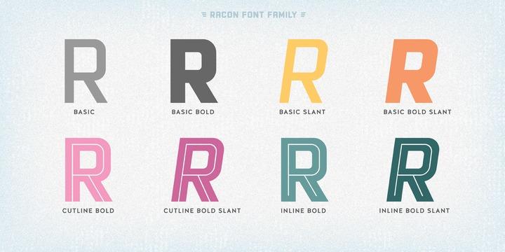 Racon   Webfont & Desktop font   MyFonts