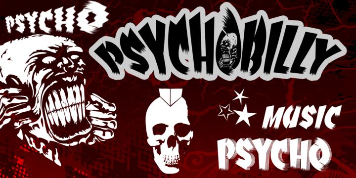 Psychobilly   Webfont & Desktop font   MyFonts