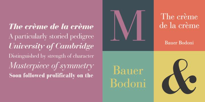 Bauer Bodoni | Webfont & Desktop font | MyFonts