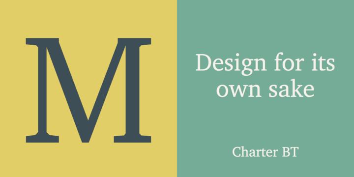 Charter BT | Webfont & Desktop font | MyFonts