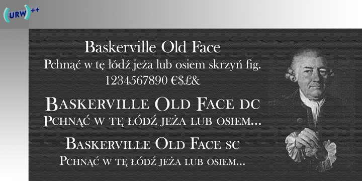 police baskerville old face
