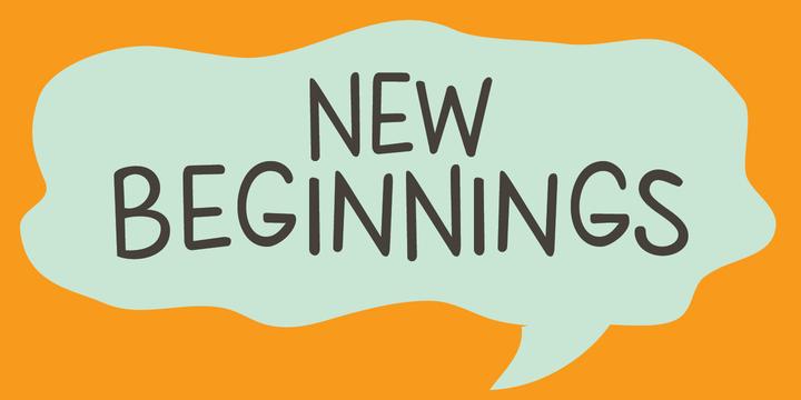 New Beginnings   Webfont & Desktop font   MyFonts