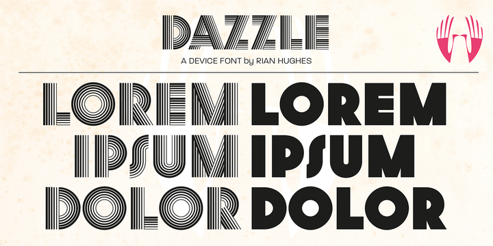 Dazzle   Webfont & Desktop font   MyFonts