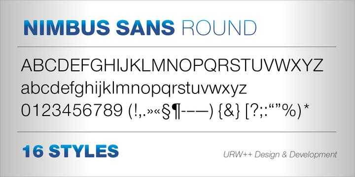 Nimbus Sans Round™
