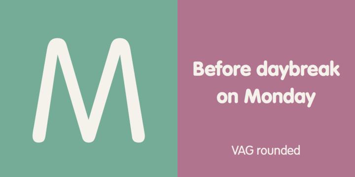 VAG Rounded | Webfont & Desktop font | MyFonts
