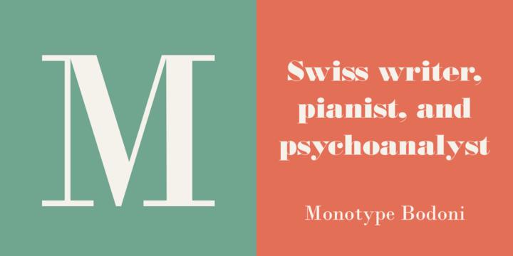 Monotype Bodoni | Webfont & Desktop font | MyFonts