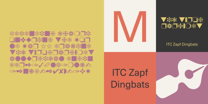 ITC Zapf Dingbats | Webfont & Desktop font | MyFonts