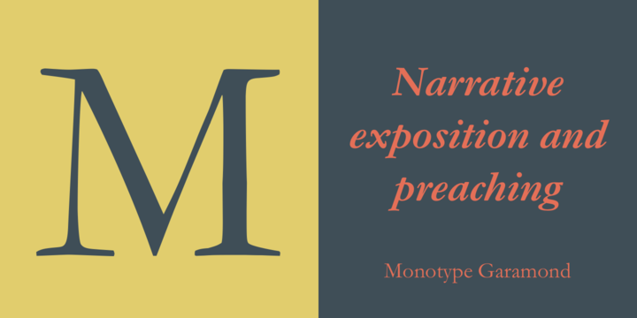 Monotype Garamond | Webfont & Desktop font | MyFonts