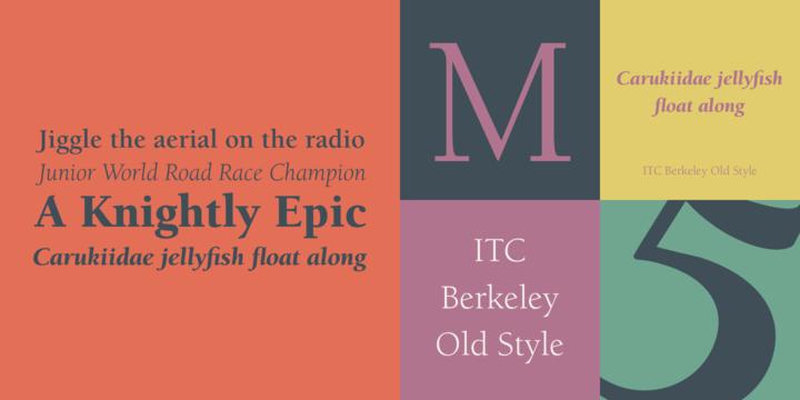 ITC Berkeley Old Style   Webfont & Desktop font   MyFonts