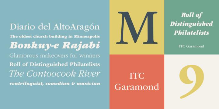 ITC Garamond | Webfont & Desktop font | MyFonts