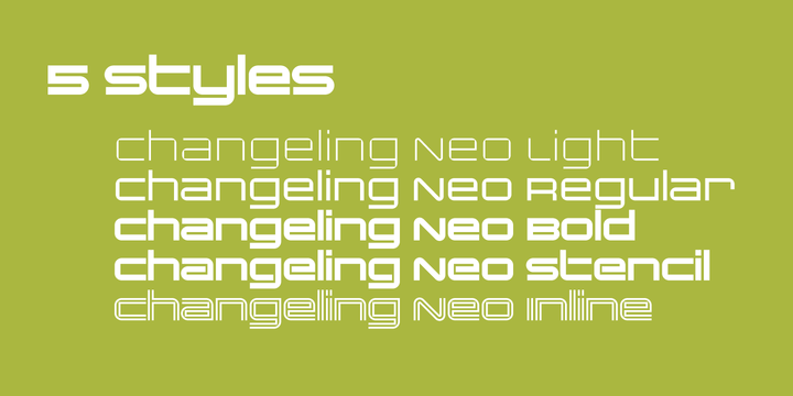 Changeling Neo Family Fonts Free Download -