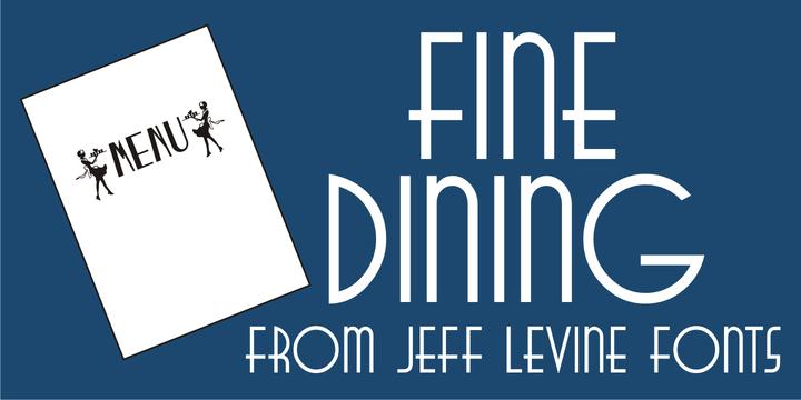 Fine Dining JNL