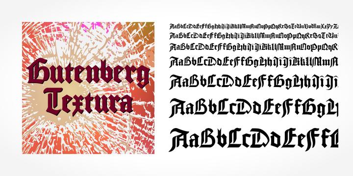 Gutenberg Textura Pro